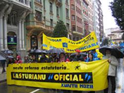 La manifestación saldrá a las 12.30 de la estación del Norte de Oviedo