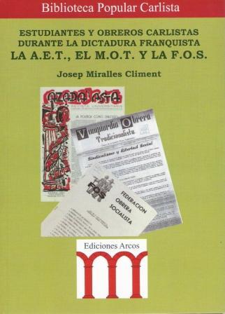 Novedad editorial de la Biblioteca Popular Carlista
