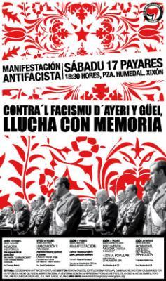 Contra'l facismu d'ayeri y güei: Llucha con memoria