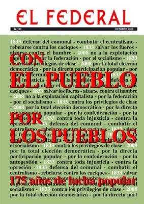 EL FEDERAL, nº 33, octubre 2008
